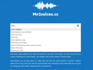 Step 2 Enter a name or title MP3Juice South Africa